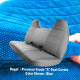 Seat Cover for Ford F-Series F150 F250 F350 F450 F550 Bench Custom Made - RealSeatCovers
