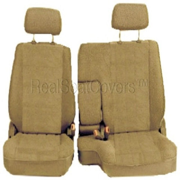 Seat Cover for Toyota Tacoma RCab XCab Front 60/40 Split Bench - RealSeatCovers