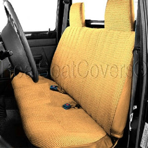 Seat Cover for 1995 - 2004 Toyota Tacoma Front Solid Bench Custom Fit - RealSeatCovers