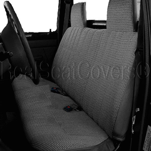 Seat Cover for Toyota Tacoma Regular Cab XCab Front Solid Bench - RealSeatCovers