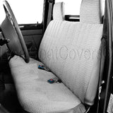 Seat Cover for 1991 - 1997 GMC Sonoma S15 Front Solid Bench Custom Fit - RealSeatCovers