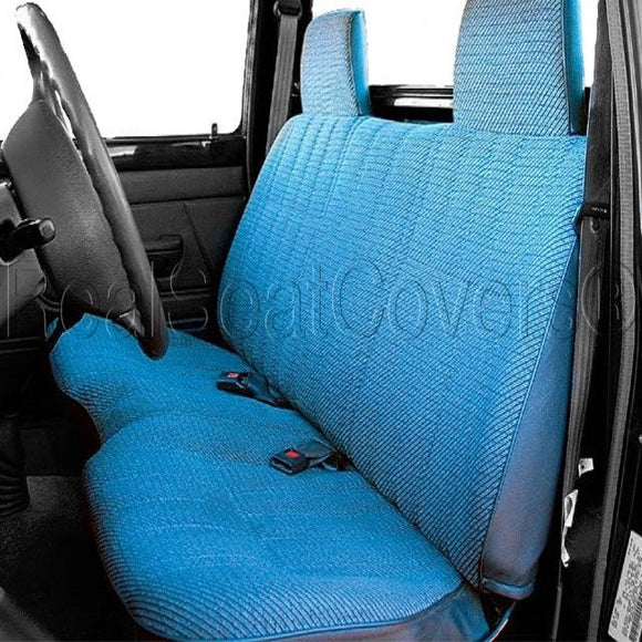 Seat Cover for Toyota Pickup Thick Triple Stitched Exact Fit Custom Made Bench - RealSeatCovers