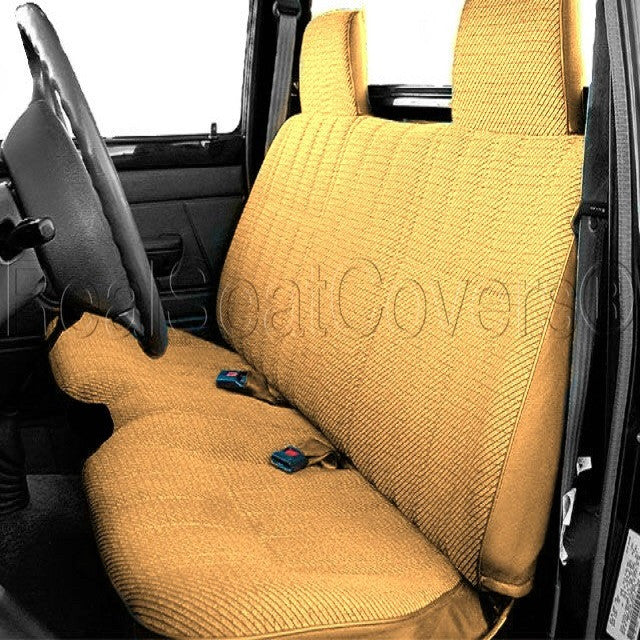 Strange Bench Seat Cover A27 Molded Headrest Shifter Cutout For Gmtry Best Dining Table And Chair Ideas Images Gmtryco