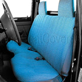 Seat Cover for Chevy S10 Molded Headrest Large 5-7 inch Shifter Cutout - RealSeatCovers