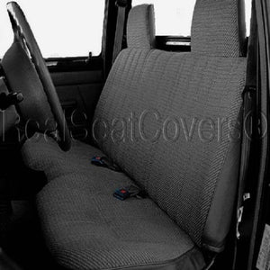 Seat Cover for Toyota Tacoma 2X4 2wd Front Solid Bench Exact Fit - RealSeatCovers
