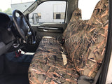 Seat Cover for Ford F-Series Regular Super Cab Front Rear Bench F23 Camo - RealSeatCovers