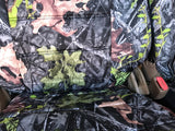 Easy Slip Front Bucket Camo Seat Covers Camouflage Set of 2 - RealSeatCovers