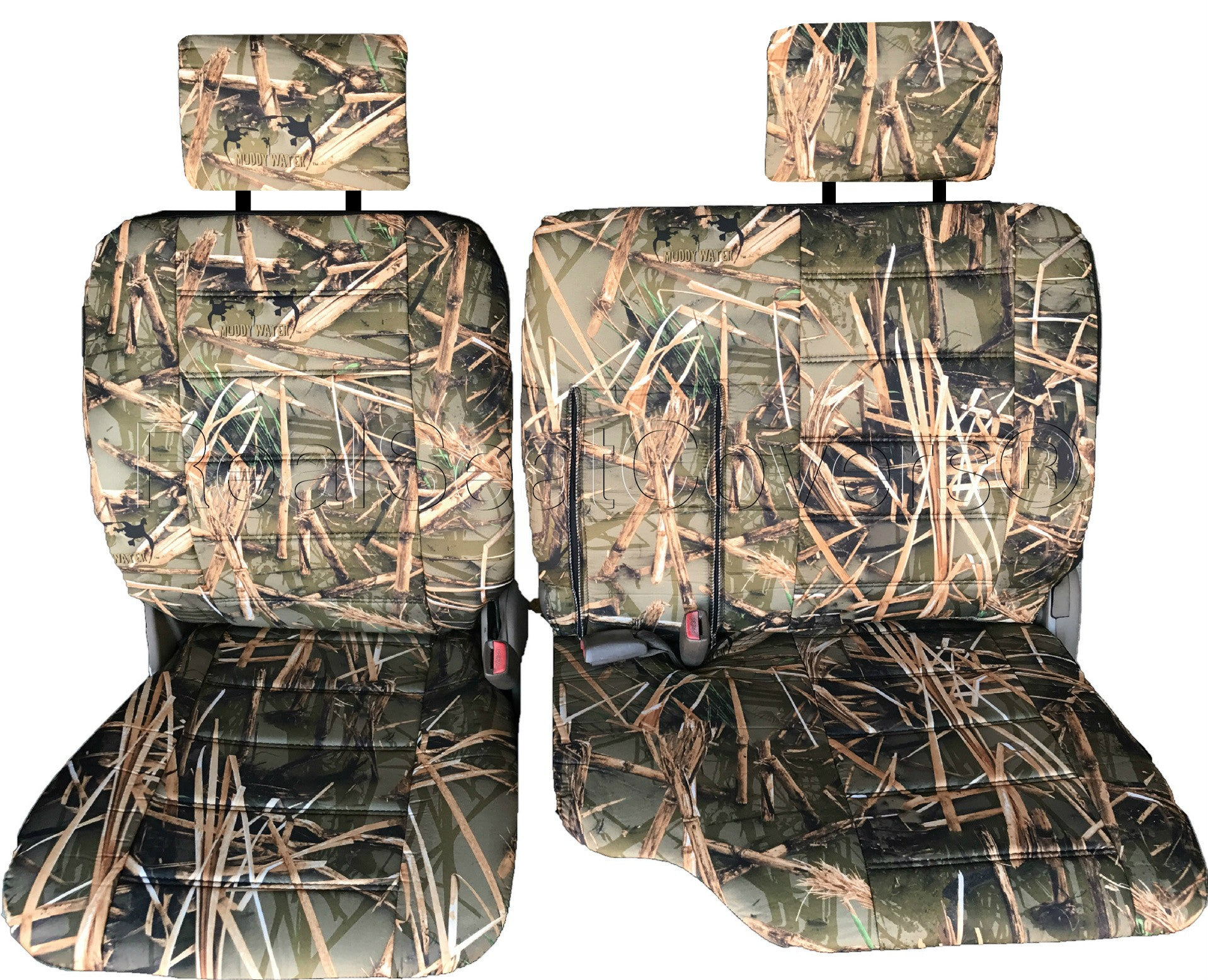 Peachy Toyota Tacoma Front 60 40 Split Bench Muddy Water Camo Seat Cjindustries Chair Design For Home Cjindustriesco