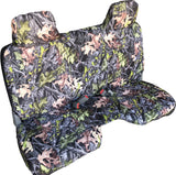 Seat Cover for Toyota Tacoma 4X4 4wd Molded Headrest Custom Made Fit - RealSeatCovers