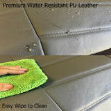Low Back 4pc Premium PU Leatherette Semi Seat Cover for Jaguar - RealSeatCovers