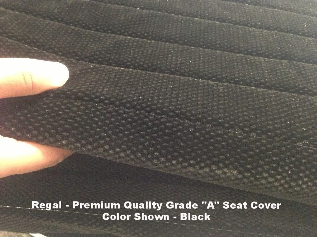Bench Seat Cover A27 Molded Headrest Shifter Cutout For