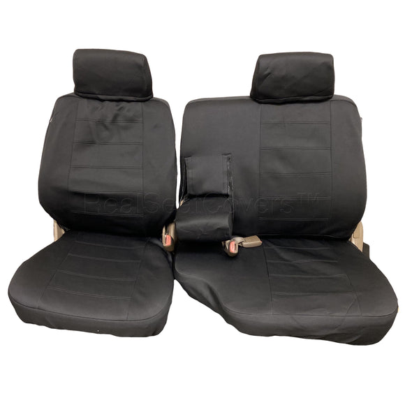 Waterproof Seat Cover for Toyota Tacoma 60 40 Split Bench Muddy Water Fitted - RealSeatCovers