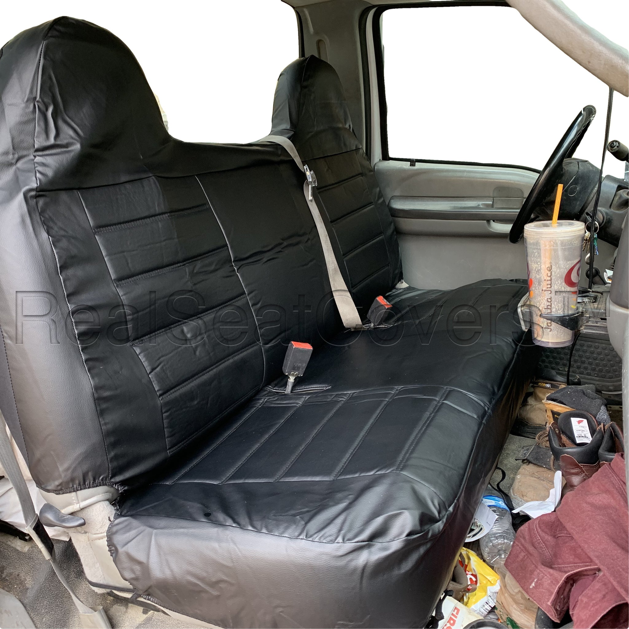 Ford F Series Full Size Bench Seat Cover Molded High Back