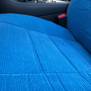 Easy Slip on 4pc Front 2 Bucket Seat Covers Set for Fiat - RealSeatCovers