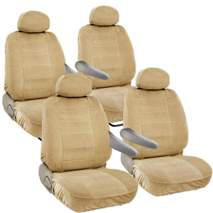 Seat Covers for Toyota Sienna 8pc 2 Row 12mm Thick VAN - RealSeatCovers
