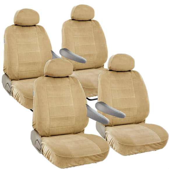 8pc 2 Row 12mm Thick Seat Covers for VAN or SUV Semi Custom Fit - RealSeatCovers