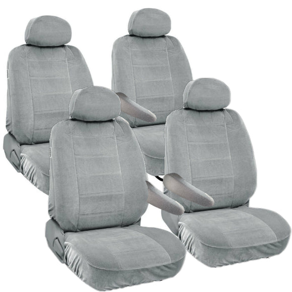 Seat Covers for Chrysler Town & Country 8pc 2 Row 12mm Thick - RealSeatCovers