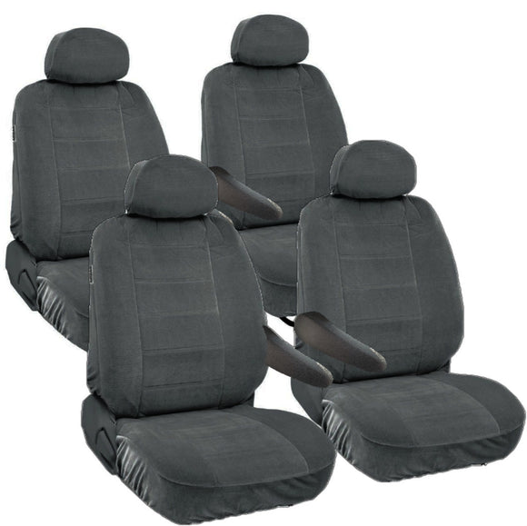 Seat Covers for Nissan Quest 8pc 2 Row 12mm Thick VAN - RealSeatCovers