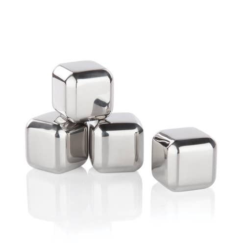 Glacier Rocks - Small Stainless Steel Cubes