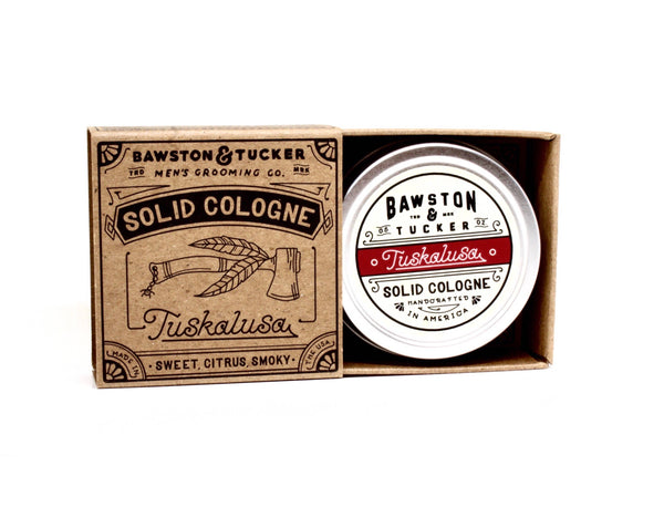 Solid Cologne - Tuskalusa Fragrance