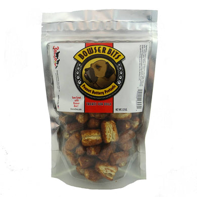 Bowser Bits Peanut Butter Pretzels - Pack of 12