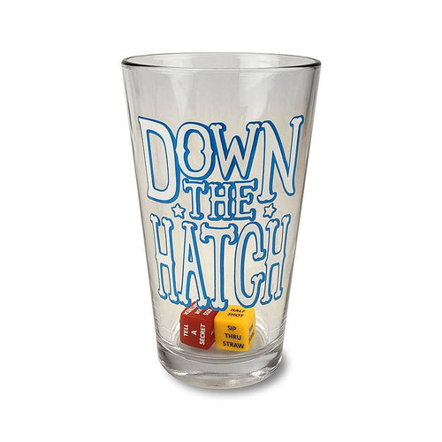 Party in a Pint Glass - Down the Hatch Drinking game w/ Dice