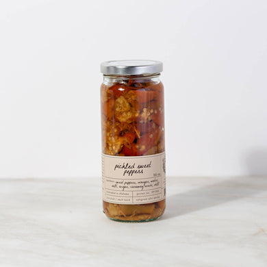 Pickled Seasonal Sweet Peppers