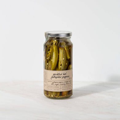 Pickled Seasonal Hot Peppers