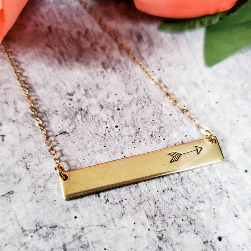 Arrow Classic Bar Necklace