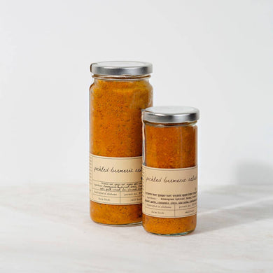 Pickled Turmeric Relish