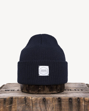 Navy Recycled Cotton Watchcap