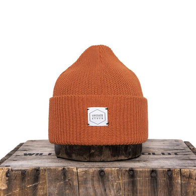 Ochre Recycled Cotton Watchcap