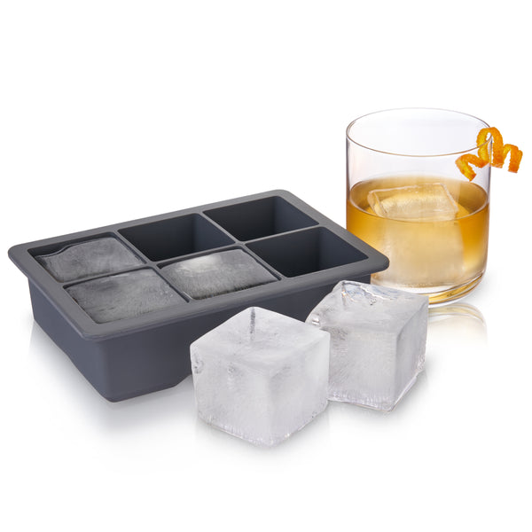 Viski Professional: Whiskey Ice Cube Tray with Lid