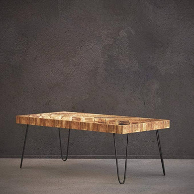 Mindful Living (tm) Chevron Table Collection