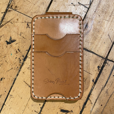 Stony Point Leather Wallet Money Clip