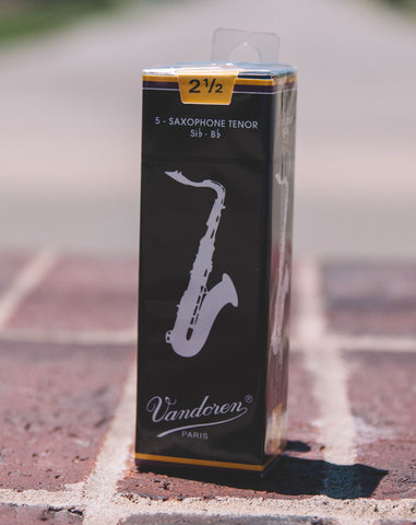 Tenor Saxophone Reeds (Traditional) Box of 5