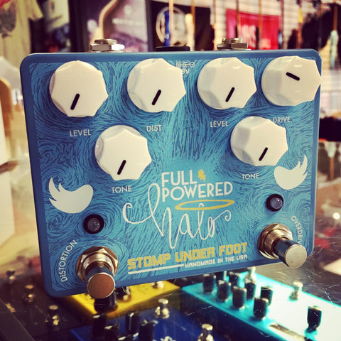 Full Powered Halo - Dual Overdrive/Distortion