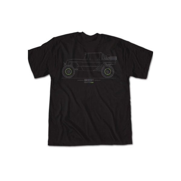 Fun-Haver Brocky Tech Drawing Tee