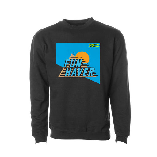 Fun-Haver Brocky Logo Crew Neck