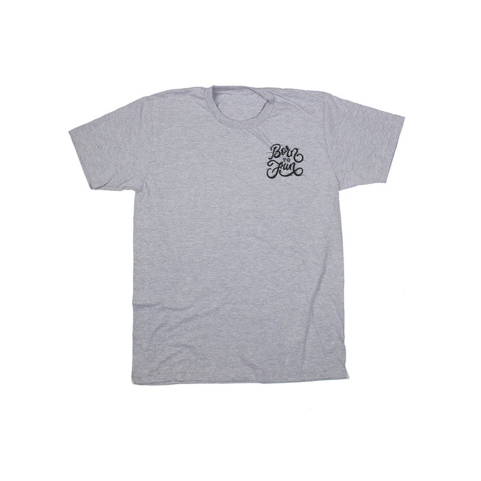 Fun-Haver Born To Fun Grey Tee