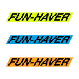 "10""  Fun-Haver Sticker"