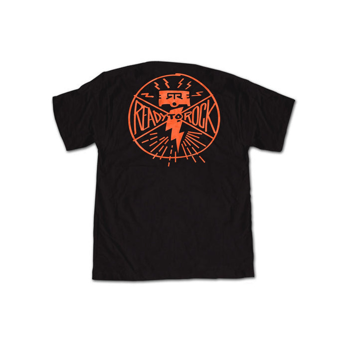 RTR Black/Orange Piston Tee Shirt