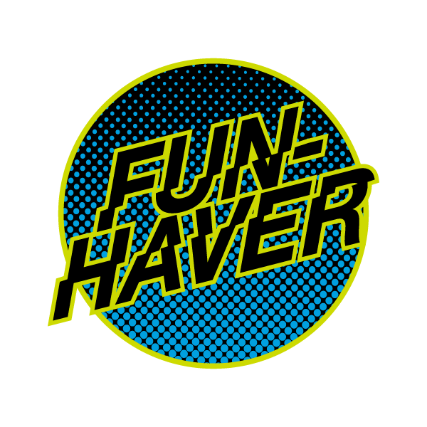 Fun-Haver VGJR Circle Logo Sticker