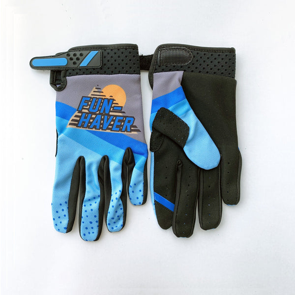 Fun-Haver Blue Gloves