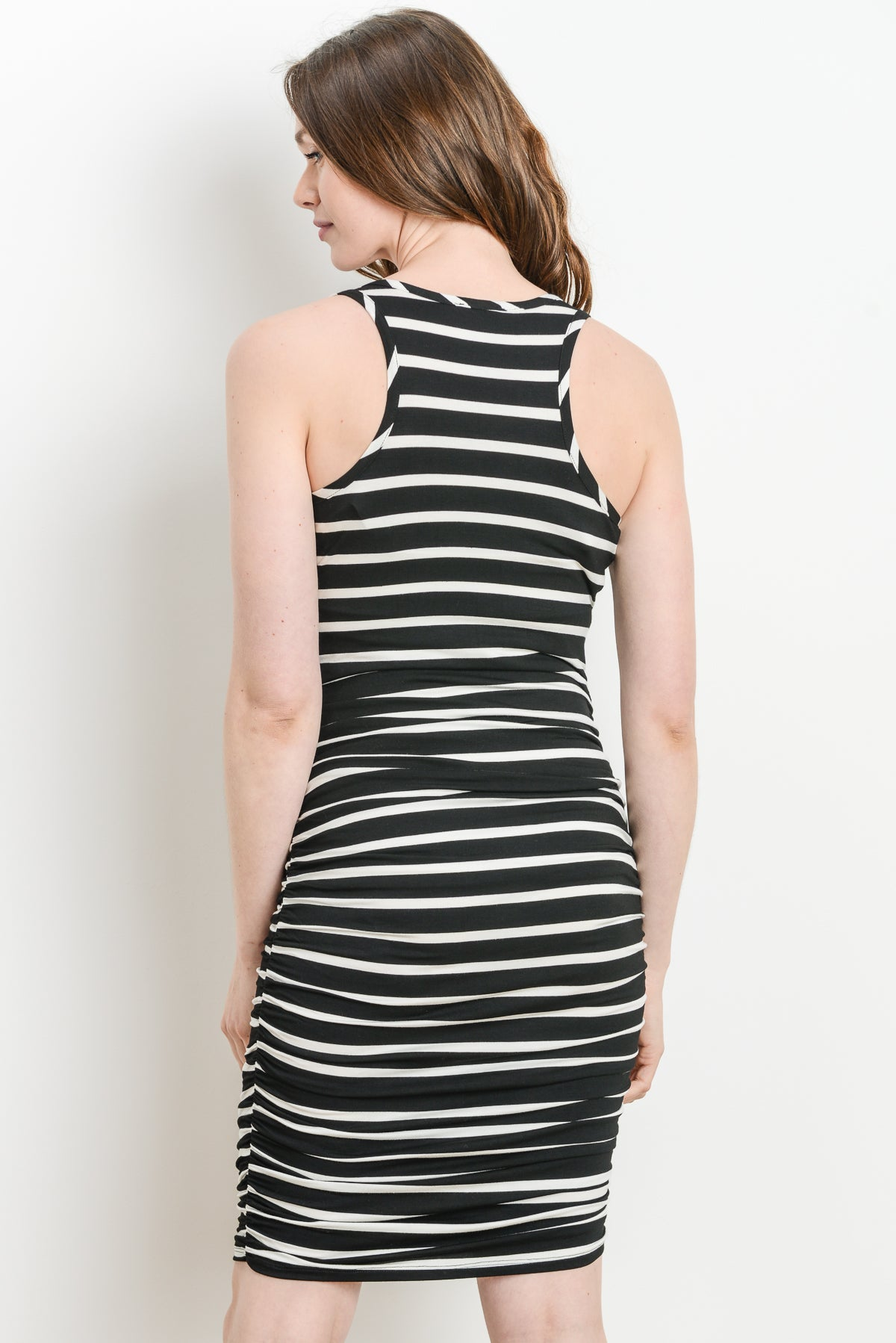 Stripe Maternity/Nursing Dress