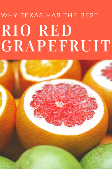 Texas Rio Red Grapefruit