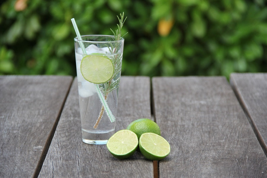 Costa Blanca Gin Drink Recipe with Kaffir Makrut Limes