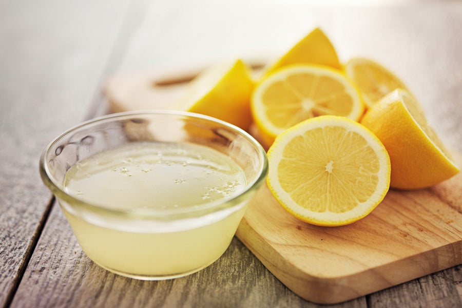 Lemon Juice with Lemons