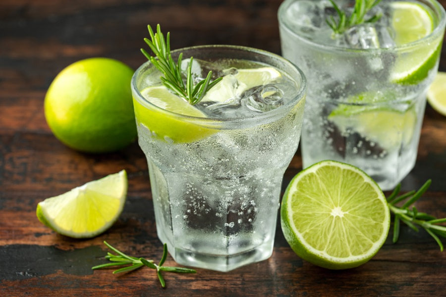 Makrut Lime Leaf Gin & Tonic