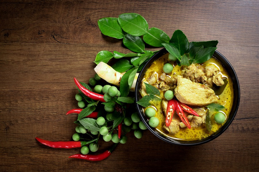 Thai Curry with Kaffir Lime Leaves